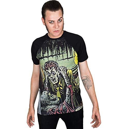 - Men's Kreepsville Tales from The Crypt Gravebuster T-Shirt Black XL