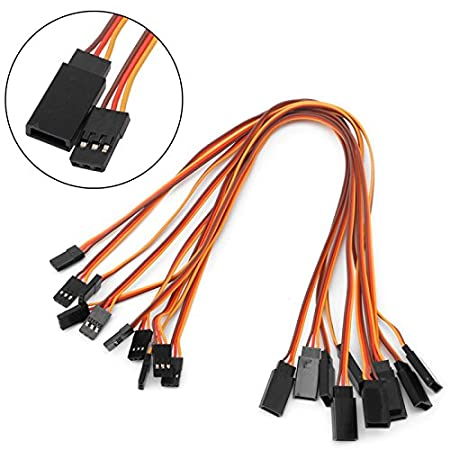 150mm Fmingdou Servo Lead Extension Wire Cable for RC Futaba JR Male to Female