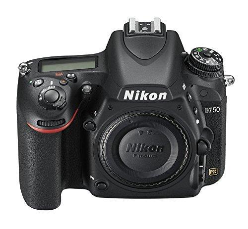 Nikon D750 1543 24.3 MP Digital SLR Camera Body 3.2 Inches TFT-LCD 50 mm f/1.4 lens (Black)