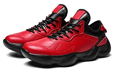 Femaroly De Rouge Taille 39 Pour Chaussures Homme Basket vN8O0mnw