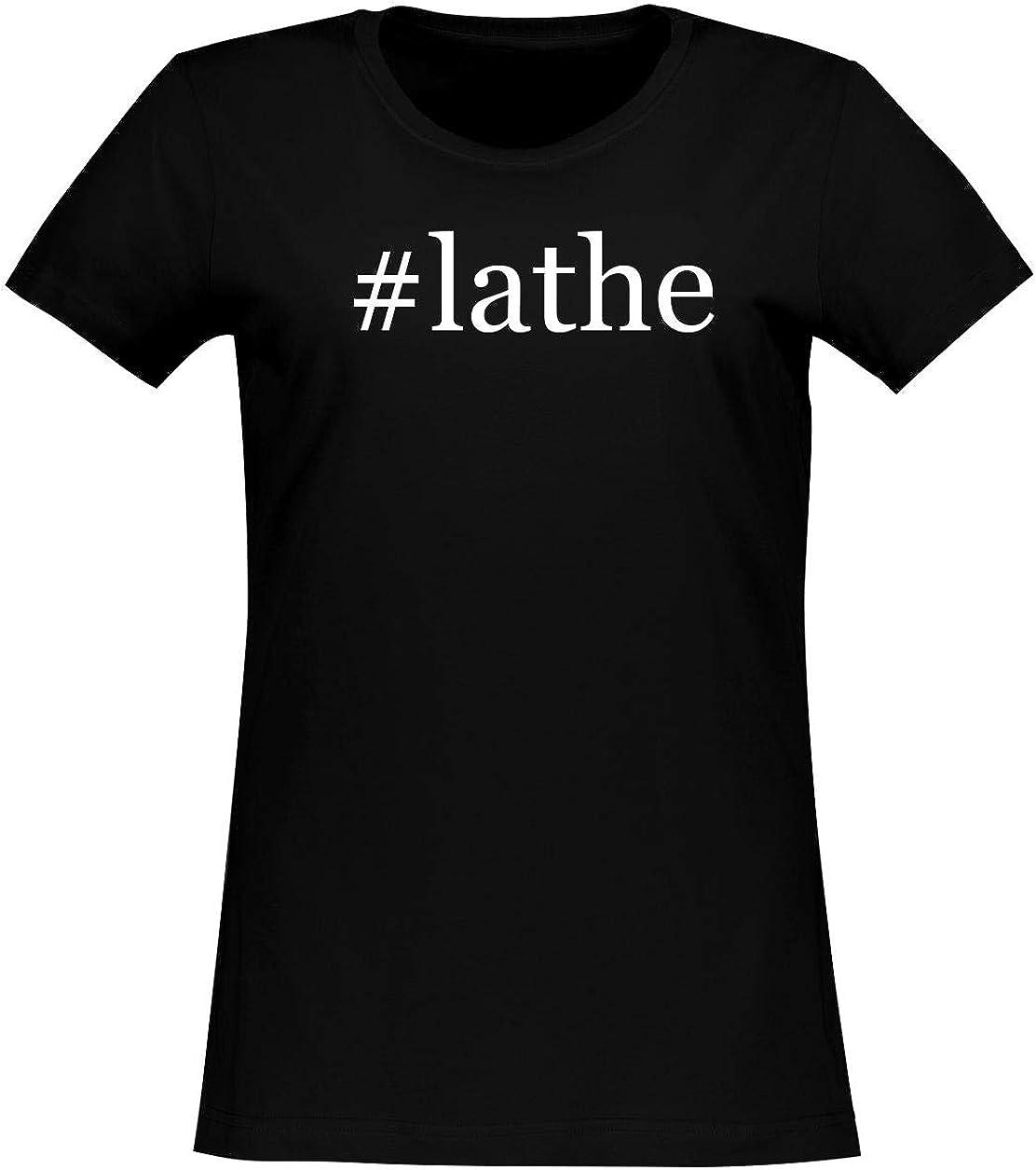 #lathe - Women's Soft & Comfortable Hashtag Junior Cut T-Shirt