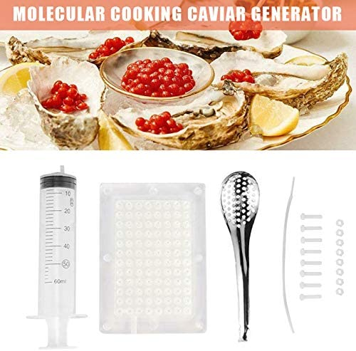 Amazon Com Cnseller Caviar Maker Kit Rapid Molecular Caviar Maker Set Spherification Dropper Molecular Gastronomy Kit With Spoon Syringe For Molecular Gastronomy Home Kitchen U hop the curb with your car, pop the tire and end up in your neighor's yard? cnseller caviar maker kit rapid