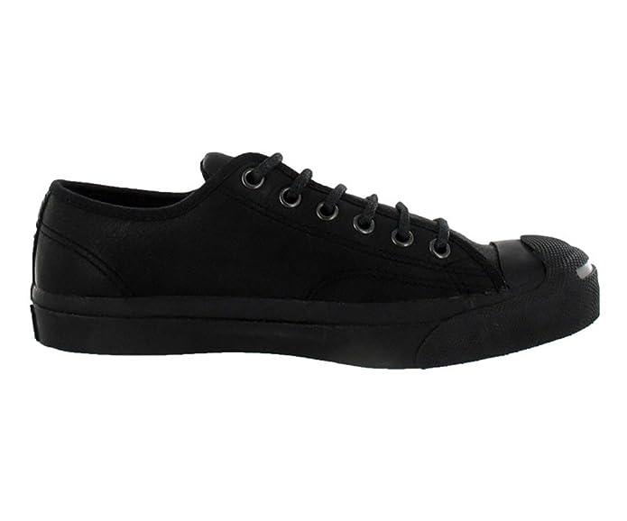 48d301de0663 Converse Jack Purcell Otr Leather Black Sz 4 M 5.5 W  Amazon.ca  Shoes    Handbags