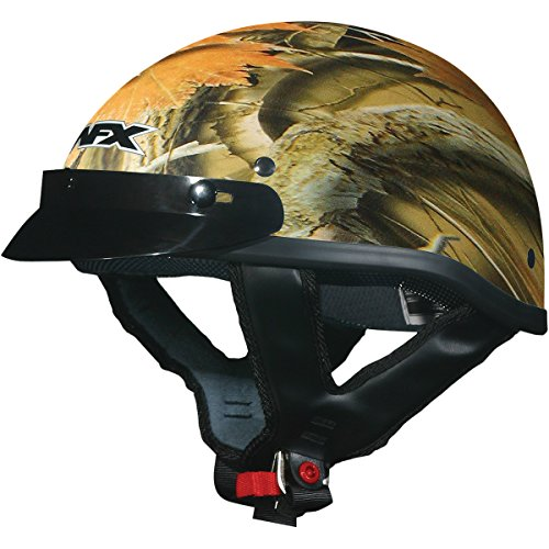 Afx Beanie Half Helmet - AFX FX-70 Camo Helmet, Distinct Name: Wood Camo, Gender: Mens/Unisex, Helmet Category: Street, Helmet Type: Half Helmets, Primary Color: Tan, Size: Lg 0103-1061
