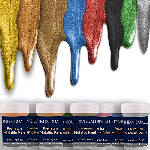 Premium Metallic Acrylic Paint