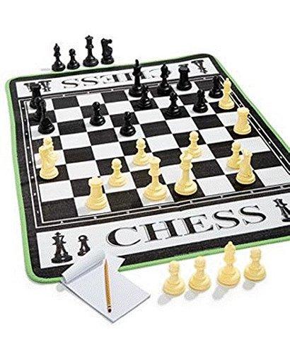 Juego de ajedrez gigante, tablero de 1.21 X 0.91 m