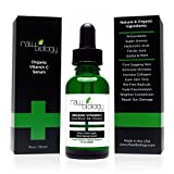 Raw Biology Organic Vitamin C Serum with Hyaluronic Acid, Clinical Strength Age Defying Formula for Your Skin by Raw Biology