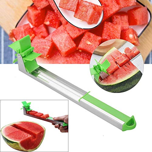 Watermelon Slicer Cutter Corer Stainless Steel Fruit and Vegetable Cutting Knife Tools Machine(1 Pack)