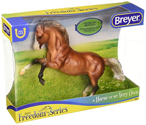 Breyer Horse SingleSilver Bay Mustang Toy, Multicolor