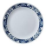 ": Corelle Livingware True Blue 10.25"" Plate, 4 Pack"