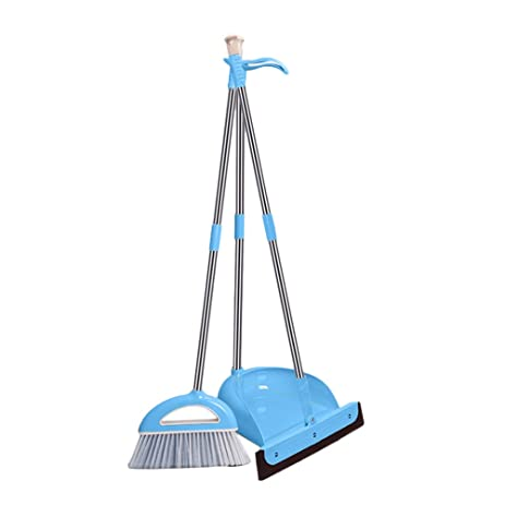 Sunlightam Broom And Dust Pan Combo 3pcs Set Home Kitchen Lobby Mop Sweeper  Cleaner