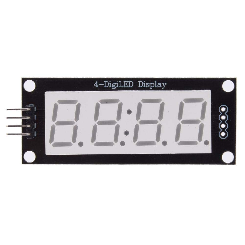 "5 LED Display Module HT16K33 I2C 0.56/"" 4 Digit Tube 7-Segment for Arduino"