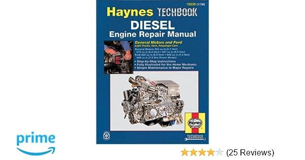 Diesel engine repair manual haynes repair manuals haynes diesel engine repair manual haynes repair manuals haynes 9781563921889 amazon books fandeluxe Images