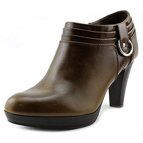 American Living Frauen GENEVIE Geschlossener Zeh Platform Stiefel Dark Brown