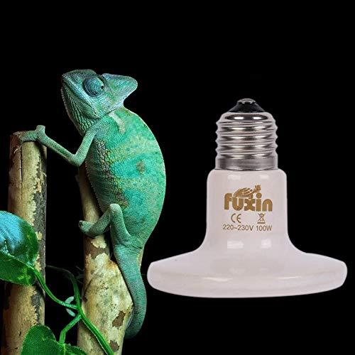 VietFX LED Bulbs & Tubes - Base Lamp Bulbs 100W 110-V220V E27 Reptile Pet Brooder Infrared Ceramic Emitter Heating Light Bulb Home Accessories 1 PCs