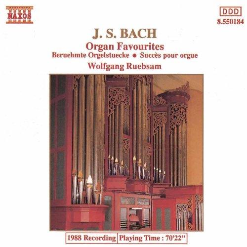 - Bach, J.S.: Organ Favourites
