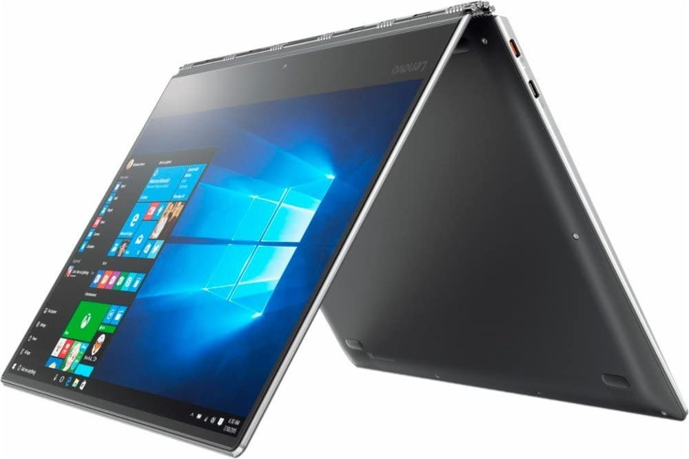 "Lenovo Yoga 910 Business 14"" 2 in 1 Full HD IPS Touchscreen Laptop/Tablet, Intel Dual-Core i7-7500U up to 3.5GHz 8GB DDR4 256GB SSD Backlit Keyboard 802.11ac Bluetooth USB Type-C Win 10"