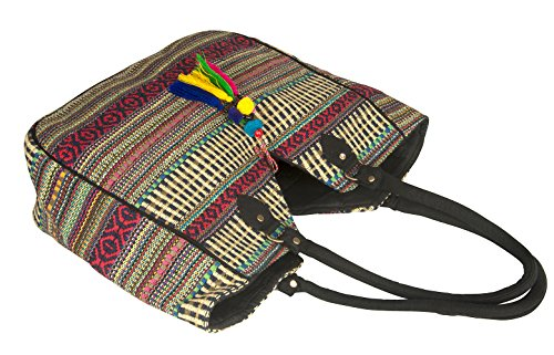 TribeAzure Large Women Shoulder Bag Tote Aztec Handbag Tassel School Everyday Beach Picnic Grocery Laptop Photo #5
