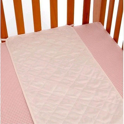 Babies R Us Plush Sheet Saver - White 6739286K12