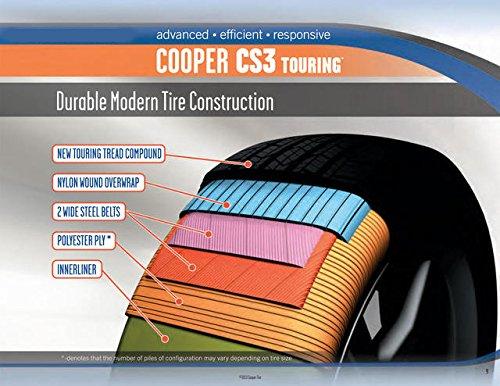 Cooper Cs3 Touring >> Cooper Cs3 Touring Radial Tire 205 60r15 91h