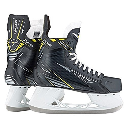 CCM Mens Tacks 3092 SR Ice Skates , Black, 6D - Tack Ice Hockey Skates