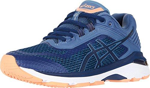 Motion Women Running Control Shoes (ASICS Women's GT-2000 6 Running Shoe, Indigo Blue/Indigo Blue/Smoke Blue, 9.5 XW US)