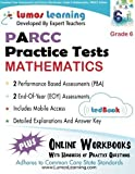 Common Core Assessments and Online Workbooks: Grade 6 Mathematics, PARCC Edition: Common Core State Standards Aligned by Learning, Lumos (2014) Paperback