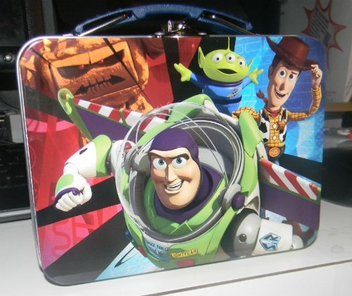TIN BOX COMPANY Toy Story ACTION PACKED MINI COLLECTORS LUNCH BOX ()