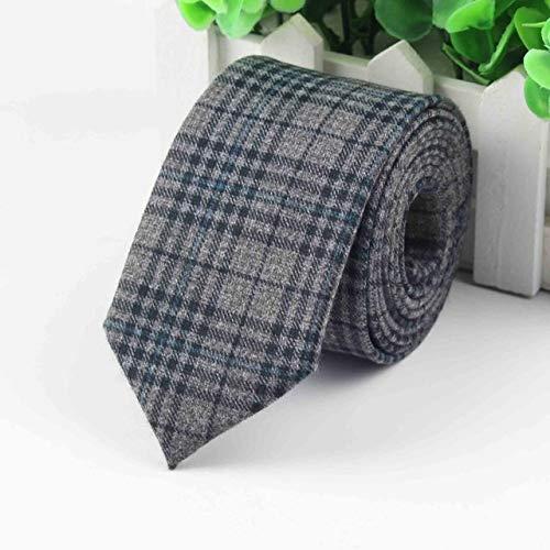 f19f7256b3e9 Graven Fashion Men's Colourful Tie Cotton Formal Ties Necktie Narrow Slim  Skinny Cravate Narrow Thick Neckties