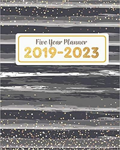 60-Month Calendar Black 2019-2023 5-Year Planner