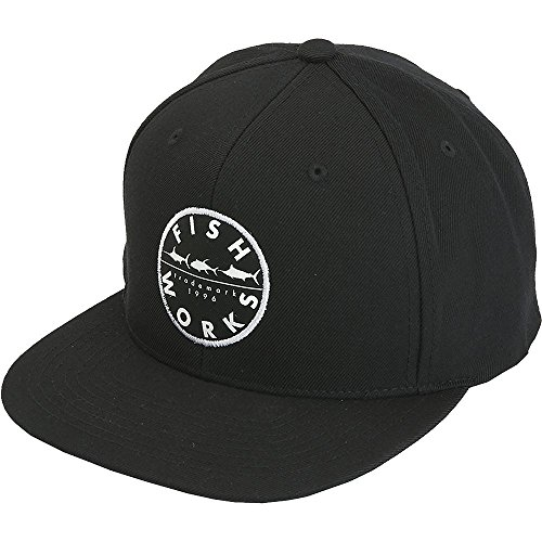 (Fishworks Original Snapback Hat - One size fits all - Black)