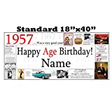 1957 PERSONALIZED BANNER by Partypro