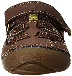 Stride Rite Soft Motion Antonio Sandal (Infant/Toddler),Brown,3 W US Infant