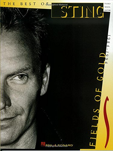 - The Best of Sting: Fields of Gold, 1984-1994 (Piano, Vocal, Guitar)