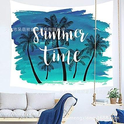 Lvcky - Toalla de Playa de Tela, 150 x 102 cm, diseño de Flores