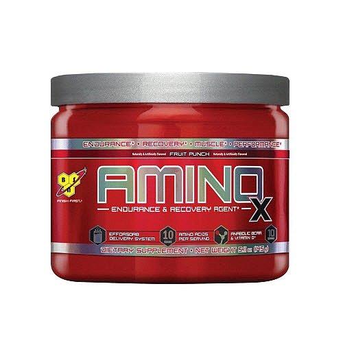 BSN AMINOX - 10 Servings - Fruit Punch