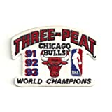 NBA Chicago Bulls Logo Patch - 1993 Champions