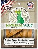 Lp Nat Chick Dentl Stks D Size 3Z Loving Pets Natural Value Chicken Dental Sticks Dog Treat 3Z For Sale