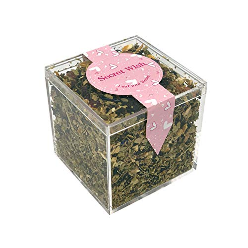 Leaf and Roses Tea (Black Flower)