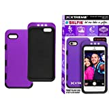 Rebelite Selfie Star Front Flash Case for iPhone 6 w/ 3 Brightness Levels, Hybrid Protection Case, Easy Access to Ports & Buttons, Compatible w/ All Selfie Sticks (Punky Purple) by Rebelite