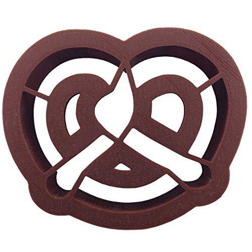 (Cookiecuttercom Pretzel Plastic Cookie Cutter 3 In)