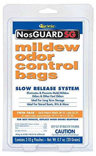 Star Brite Mildew Odor Control Bags - Slow Release System - Twin -