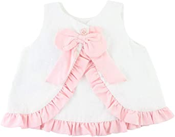 Strappy Sleeveless Swing Top Ruffles Bloomer Pants Set Baby Girl  6m-3years