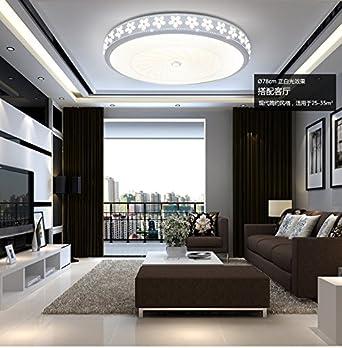 Runde LED-Deckenleuchte, Schlafzimmer, großes Wohnzimmer, Esszimmer ...