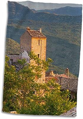 Amazon.com: 3D Rose Pacentro-Sulmona-Abruzzo-Italy Hand Towel, 15\