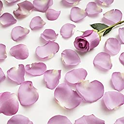 Farm Fresh Natural Lavender Rose Petals - 5000 petals