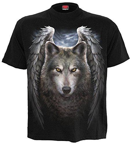 Spiral - Mens - LYCOS WINGS - T-Shirt Black - ()