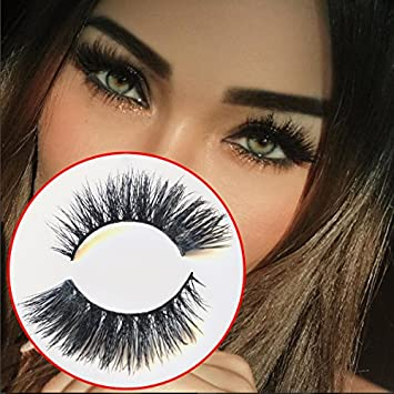 9cd132e860c Amazon.com: BELLAGI DOLCE MINK EYELASHES 3D - SEXY AND FLIRTY LOOK: Beauty