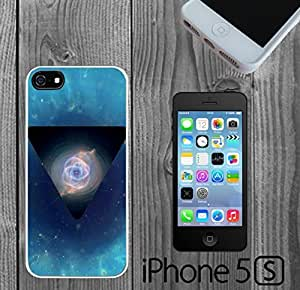 Blue Nebula Triangle Eye Custom made Case/Cover/skin FOR iPhone 5/5s
