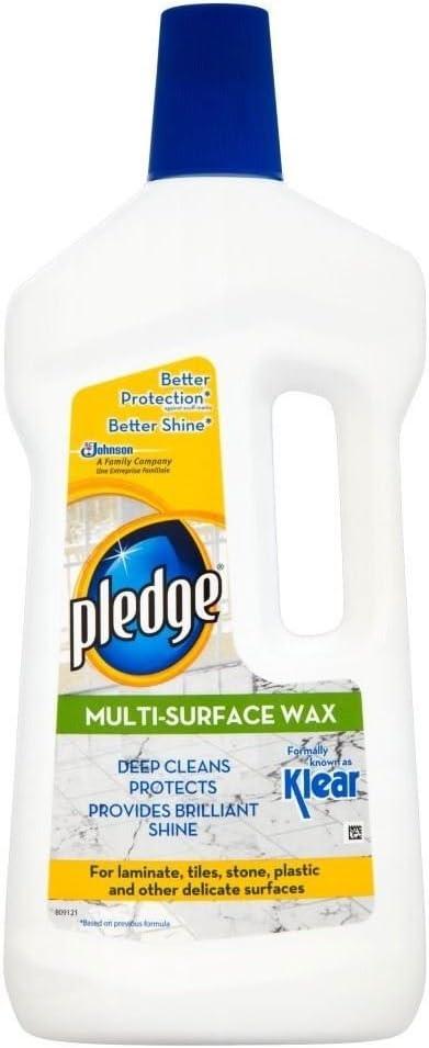 Pledge Multi Surface Wax 750ml Amazon Co Uk Grocery